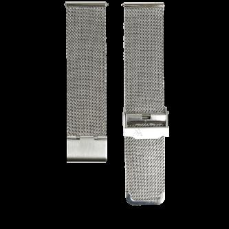 Silbernes Milanaise Mesharmband in 22mm von MNMA