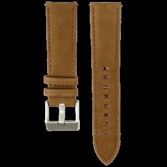 Wechselarmband in Haselnussbraun von MNMA 22mm