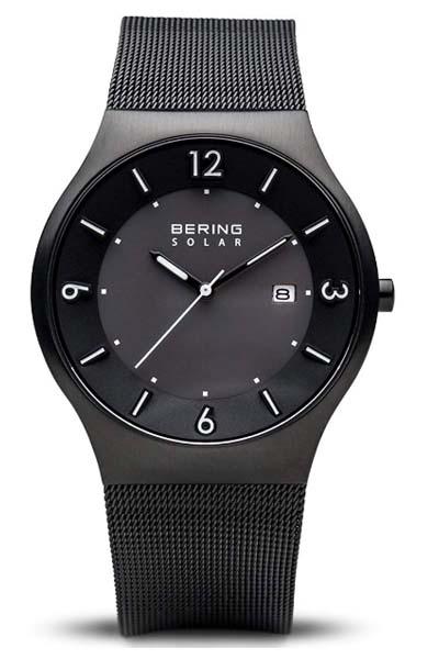 Bering 14440-077 Frontseite -silberne Businessuhr