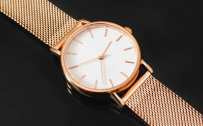 Rose goldene Uhr für Damen